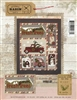 Mini Vintage Truck Thru The Year Quilt Pattern - April
