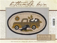 Mini Vintage Truck Thru The Year Quilt Pattern - May
