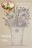 Nesting Time Embroidery Pattern by  Crabapple Hill Studio