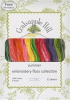 Lecien Crabapple Hill Summer12 Skein Floss Collection