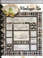 Vintage Tin Embroidery Quilt Pattern