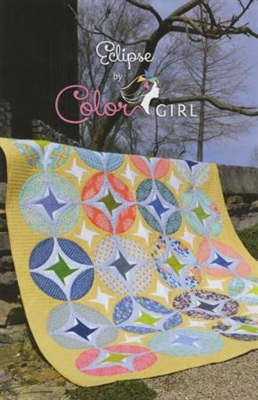 Eclipse Quilt Pattern from Color Girl Quilts