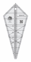 Creative Grids Starburst 30 Degree Triangle Ruler # CGRISE30