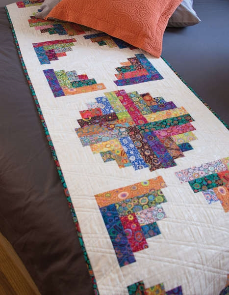 Creative Grids Curvy Log Cabin Quilts By Jean Ann Wright