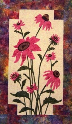 Coneflower Applique Pattern by Cleo's Design