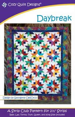 Daybreak Quilt Pattern from Cozy Quilt Designs