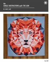 Jungle Abstration: The Lion Quilt Pattern
