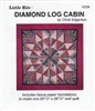 Little Bits Diamond Log Cabin Paper Piecing Pattern