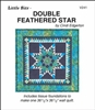 Little Bits Double Feathered Star Paper Piecing Pattern