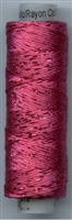 Dazzle 50 Yard Mini Spool of Sue Spargo's Dazzle Thread Raspberry