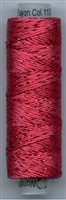 Dazzle 50 Yard Mini Spool of Sue Spargo's Dazzle Thread Raspberry CLARET
