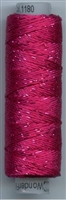 Dazzle 50 Yard Mini Spool of Sue Spargo's Dazzle Thread Beetroot Purple