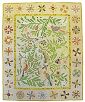 Bird's Eye View Applique Quilt Pattern by Irene Blanck