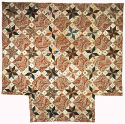 Clarissa D. Moore Quilt pattern from Olde Sturbridge Village