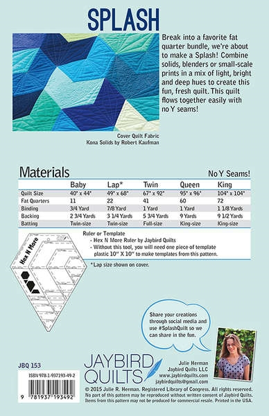 10 Small House Designs That Break Preconceptions About Small Size: Splash Quilt Pattern By Jaybird Designs