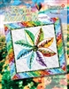 Eight In A Rainbow Leaf Series Quilt Pattern from Judy Niemeyer
