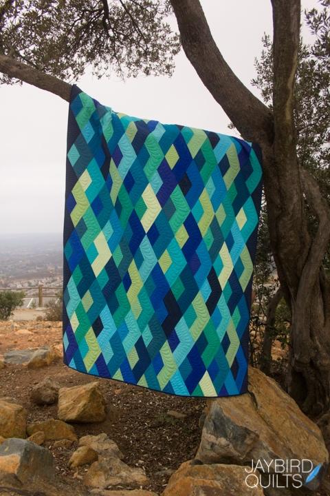 Boomerang Quilt Pattern By Jaybird Quilts