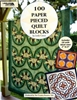 100 Paper Pieced Quilt Block  Book and CD