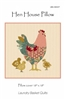 Hen House Pillow or Quilt Pattern by Edyta Sitar