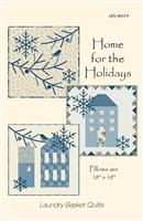 Home for the Holidays Quilt Pattern Trio by Edyta Sitar -Laundry Basket Quilts