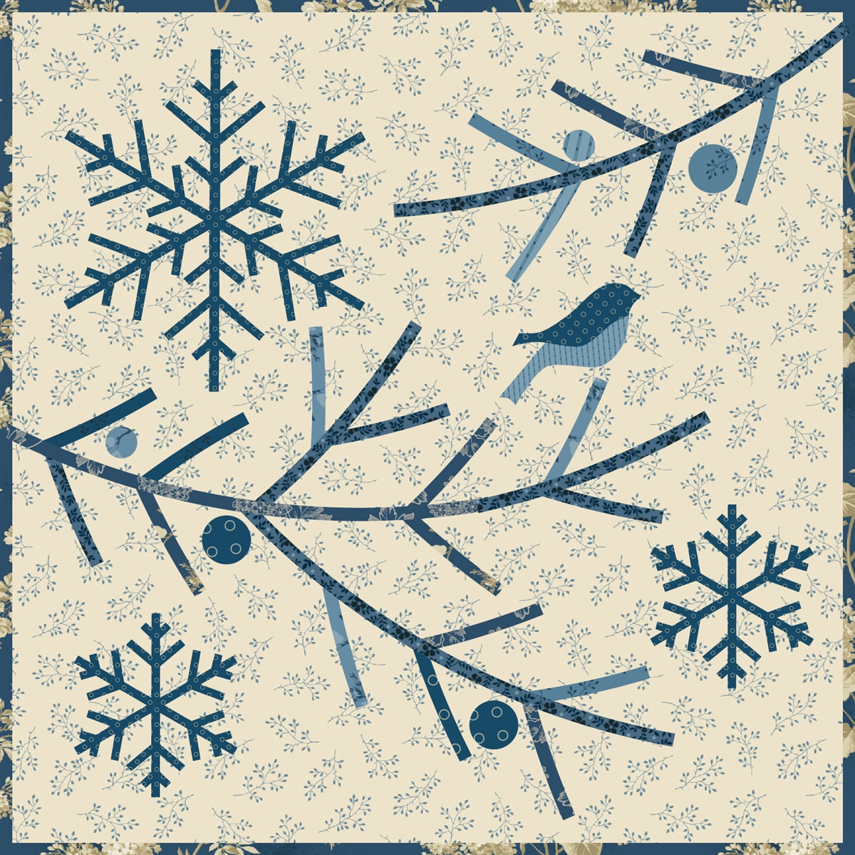 Home For The Holidays Quilt Pattern Trio By Edyta Sitar