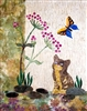 Cat & Butterfly Quilt Pattern