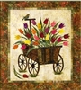 Spring Wagon Applique Quilt Pattern