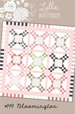 Bloomington Quilt Pattern by Lella Boutique