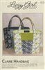 Claire Handbag Pattern by Lazy Girl Designs