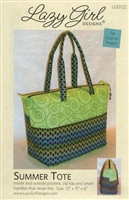Summer Tote Bag Pattern by Lazy Girl Designs