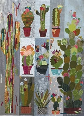 Collage Cactus Quilt Pattern