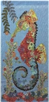 Ebba Seahorse Collage Quilt Pattern
