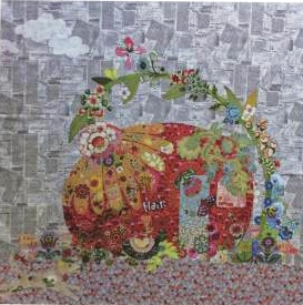 Flaura Vintage Trailer Collage Quilt Pattern