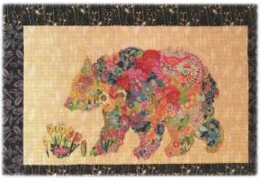 Paisley Bear Collage Quilt Pattern