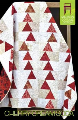 Cherry Cream Soda Quilt Pattern by Madison Cottage