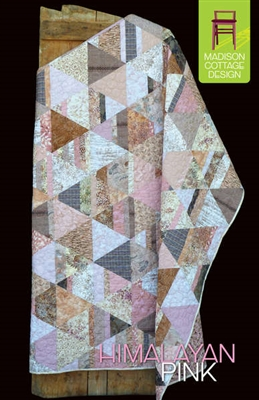 Himalayan Pink Quilt Pattern by Madison Cottage Design