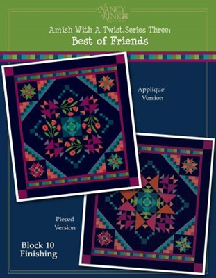 Amish With A Twist: Best of Friends BOM Pattern SET
