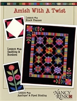 Amish With A Twist 1 BOM Quilt Pattern Set