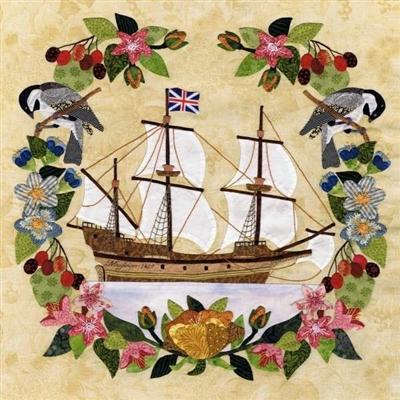 Block Of The Month Massachusetts Mayflower Block 1