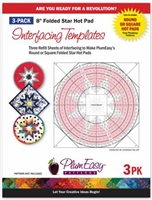Hot Pad Interfacing Templates 3-pack