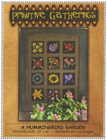A Hummingbird Garden Quilt Pattern by Primitive Gatherings