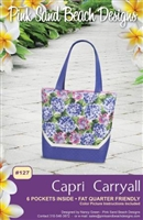Capri Carryall Bag Pattern from Pink Sand Beach Designs
