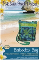 Barbados Bag  Quilt Pattern by Pink Sand Beach Designs