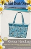 Riviera Handbag  Quilt Pattern by Pink Sand Beach Designs