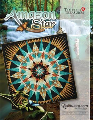 Amazon Star Paper Pieced Quilt Pattern By Judy Niemeyer