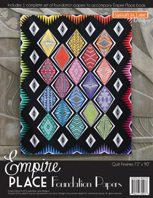 Empire Place Quilt Foundation Papers by Sassafras Lane Designs