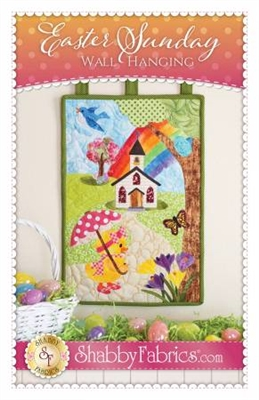 Easter Sunday Quilt Pattern by Shabby Fabrics is an instructional