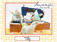 Tilly the Mouse PinCushion Pattern