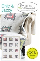 Sew Kind of Wonderful Chic Jazzy Quilt Pattern