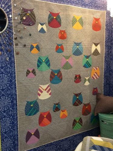 Sew Kind Of Wonderful Mod Owls Quilt Pattern